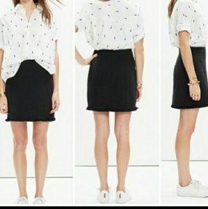 Madewell Hideaway Fringe Skirt